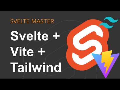 Svelte + Vite + TailwindCSS = 🌸🌸🌸