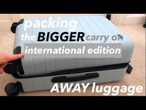 International Packing in AWAY The Bigger Carry On   10 Days in Italy!   This or That