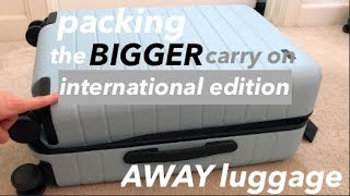 International Packing in AWAY The Bigger Carry On | 10 Days in Italy! | This or That
