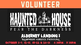 Volunteers Needed For Fear The Darkness Haunted House