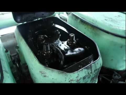M/V Stena Scanrail main engines