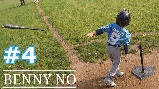 TEE BALL PLAYER THROWS THE BAT | BENNY NO | TEE BALL SERIES #4