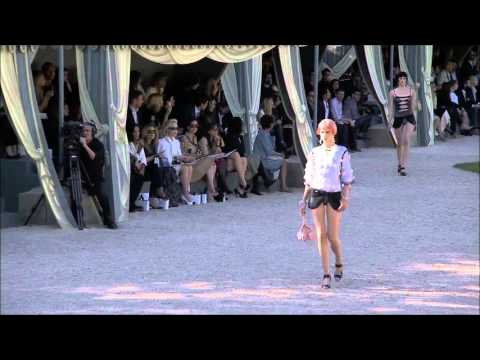 Chanel Versailles Cruise 2013 Full Fashion Show with Names.