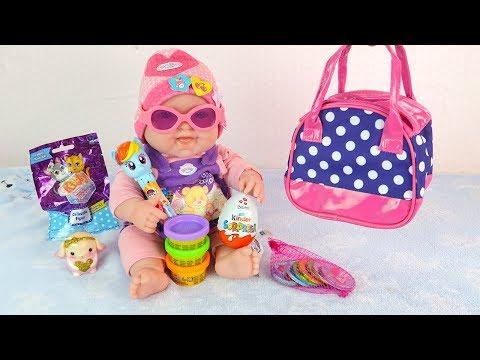 Как МАМА Открывает Подарки от Бабушки Куклы Пупсики Мультик для детей Игрушки для девочек