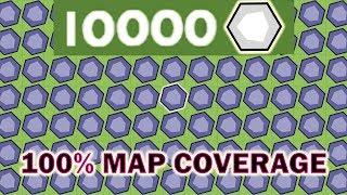 Moomoo.io Map Control: 10,000 Mines! (World Record)