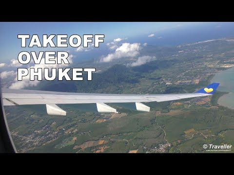 TAKEOFF | Thomas Cook Scandinavia  Airbus A330 Takeoff at Phuket Airport (HKT) – RAW Footage