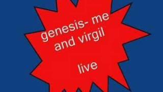 genesis- me and virgil LIVE