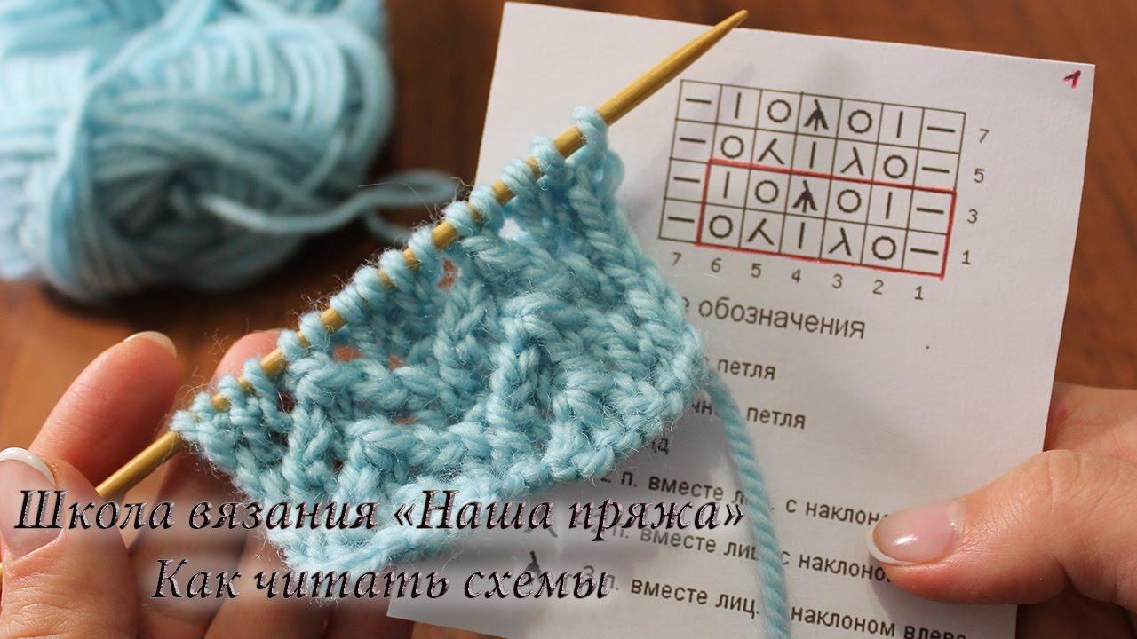 Схема вязания для новичков фото 610