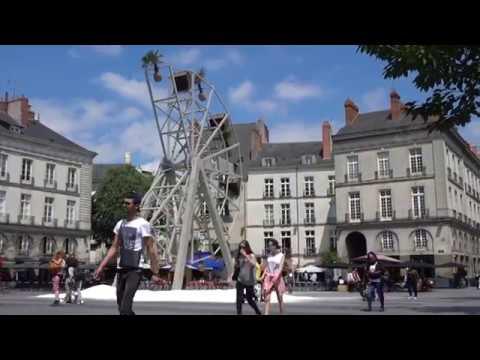 Le Voyage à Nantes en 100 secondes chrono