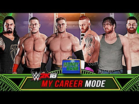 WWE 2K18 My Career Mode - MONEY IN THE BANK LADDER MATCH! MITB PPV (WWE 2K18 My Career)