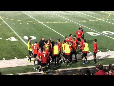 Fairview vs Boulder Post Game Celebration