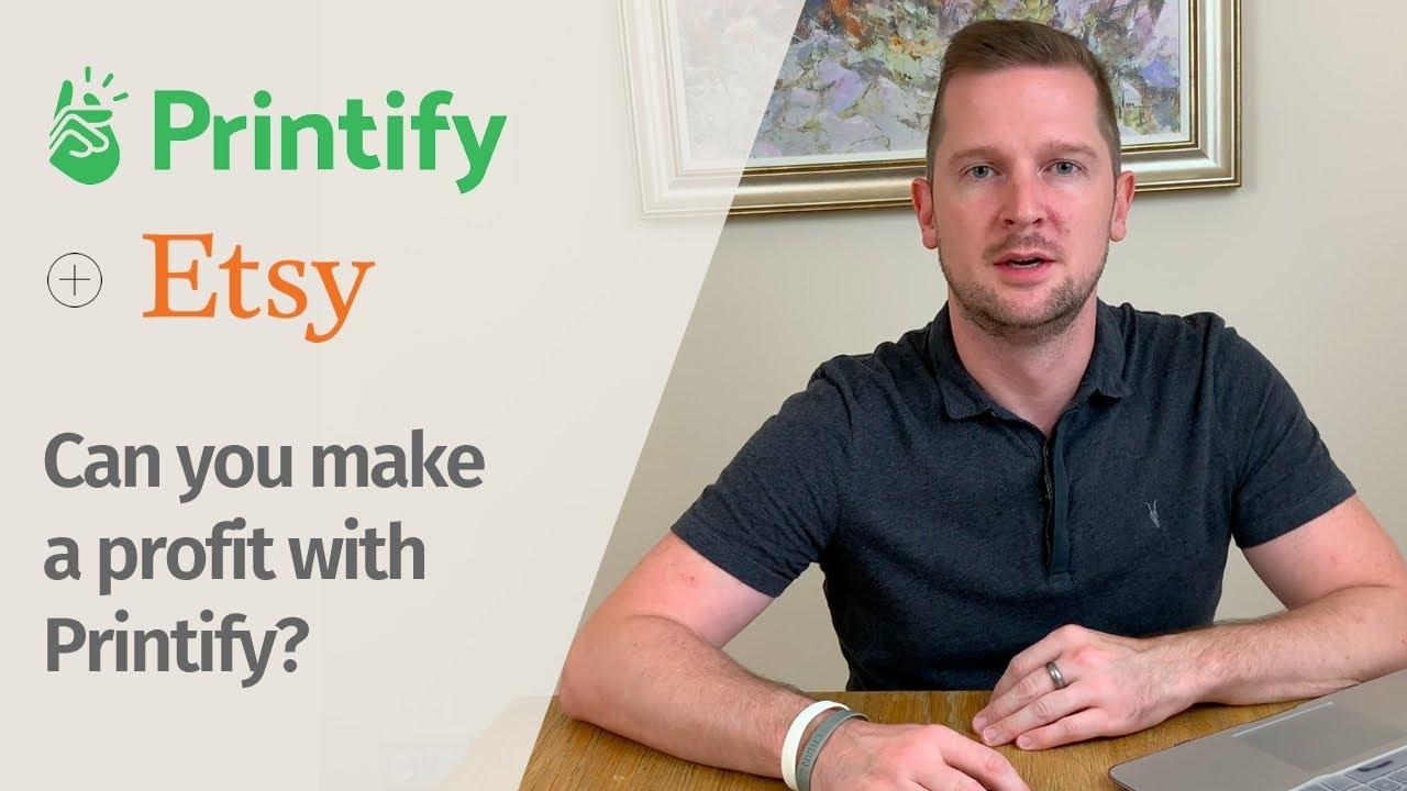 Etsy Printify Setup | Etsy Printify Tutorial  - Selling Print On Demand on Etsy