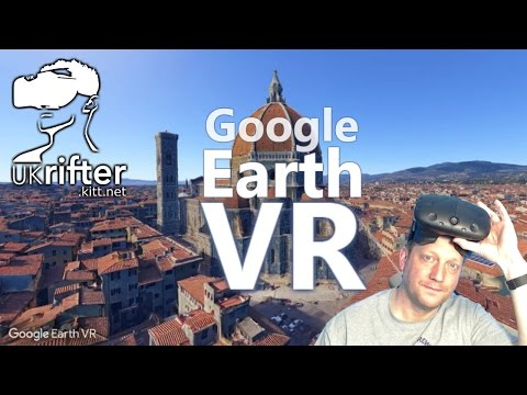 Google Earth VR - the greatest VR application so far on HTC Vive by UKRifter