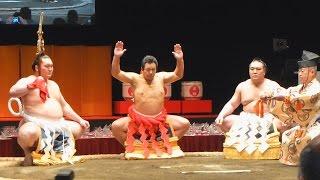 よっ、日本一!九重親方の「還暦土俵入り」が圧巻の美しさ!