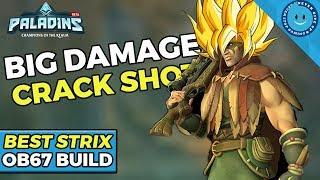 Paladins: SUPER SAIYAN STRIX! HIS DPS IS CRAZY! (Strix Gameplay and Build)