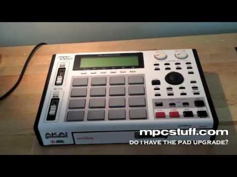 Do I have the MPC 1000 Pad Upgrade ? - MPCStuff.com