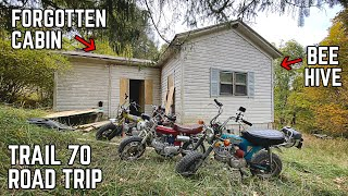 Rehabbing Ike's VANDALIZED Mountain Estate | 500 Miles on Honda CT70s, West Virginia Special Pt. 2