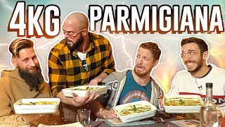 4KG di PARMIGIANA 🍆 con Thomas Hungry, xMurry e Danny Lazzarin 🍽
