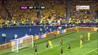 Ukraine vs Sweden (2-1) EURO 2012 All Goals HD