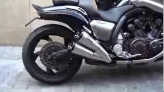 Легендарный мотоцикл Yamaha V-Max(Yamaha V-Max являлся радикальным