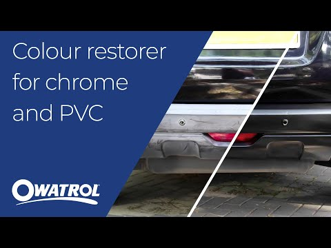 64 EN Owatrol POLYTROL - Colour restorer for chrome and PVC