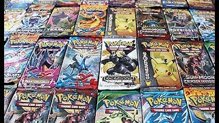 Opening A *Custom* Pokemon Booster Box