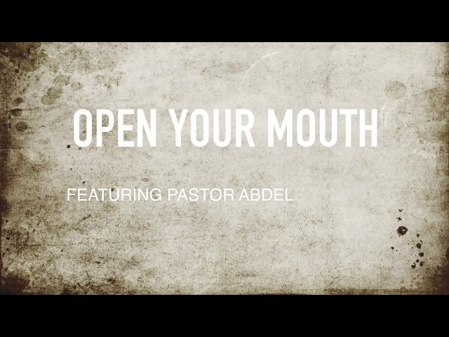 Open Your Mouth(featuring Abdele George)