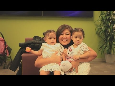 3-Year-Old Identical Twins Meet Bone Marrow Donor Who Saved Their Lives