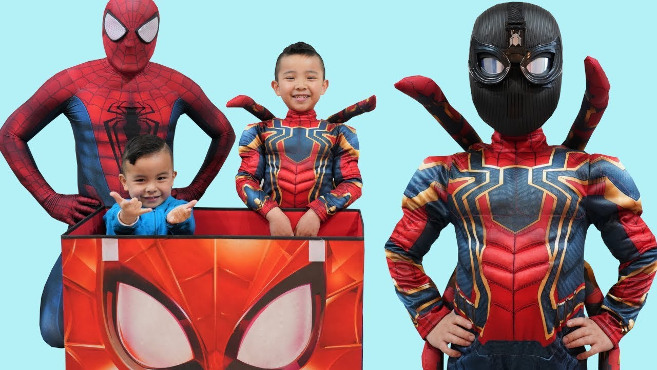 Spider-Man Far From Home Toys Collection Fun With CKN