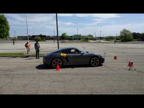 Cayman GTS Autocross