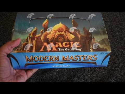 Modern Master 2013 booster box opening