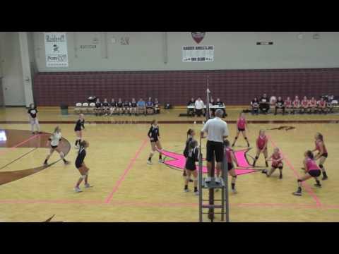 Roane County High School Volleyballvs  Wirt County HIgh School, vs  Parkersburg Catholic 10-11-2016