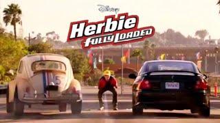 Herbie fully loaded (2005) - Volkswagen Type 1 beetle vs Pontiac GTO / Holden Monaro. The love bug