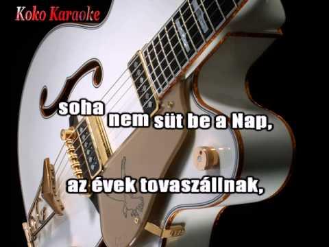 Késő üzenet - Gitáron (Kokó karaoke).avi