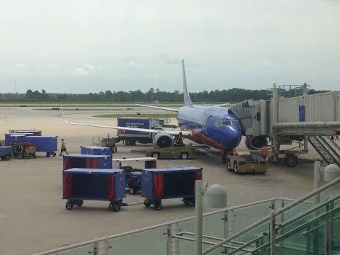 Southwest Airlines 737-300 Flight MCO-MHT