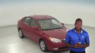 A95461GT - Used, 2009, Hyundai Elantra, GLS, Red, Test Drive, Review, For Sale -