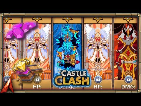 Rolling Traits With Gems Vs. Merits! Castle Clash