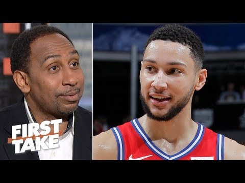 Ben Simmons deserves a max contract despite shooting issues - Stephen A.   First Take
