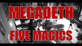 MEGADETH - Five magics - drum cover (HD)
