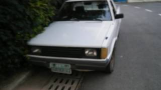 30 years ago car ( Hyundai PONY 2 pickup truck )