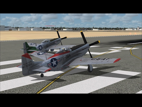 A2A Simulations WWII Military Formation Flight