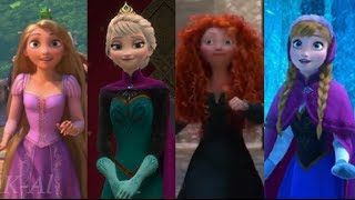 Repeat youtube video Let It Go: A Tribute to 3D Disney Princesses