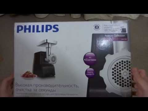 Мясорубка PHILIPS HR2730/90 обзор