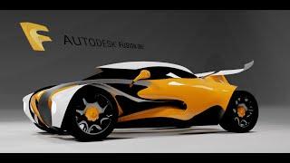 Speed Run 4 - Car design using Fusion 360