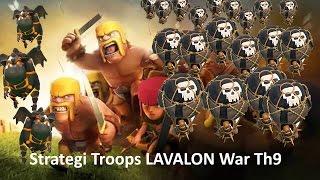 LAVALON Troops War Th9 Bikin Rata Base