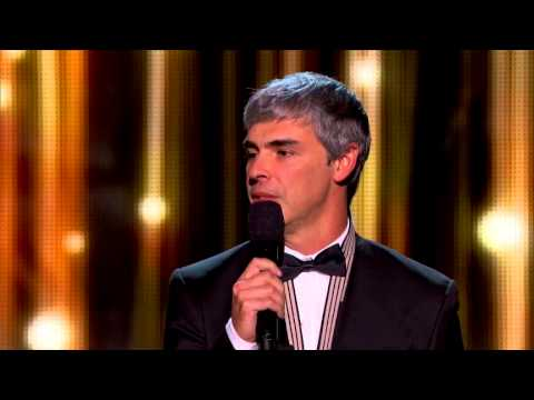 2014 Breakthrough Prize Ceremony: Michael Hall and Larry Page