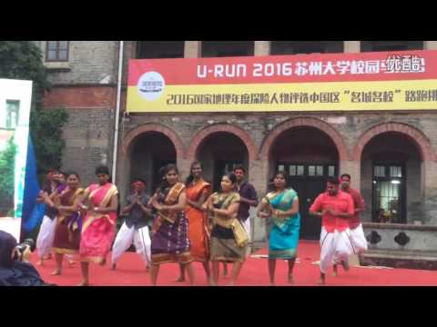 TAMIL COLLEGE DANCE PERFORMANCE 2017 SOOCHOW UNIVERSITY U marathon 2016