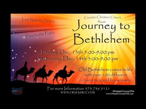 Journey To Bethlehem & Antique Trail Radio Ad 1213