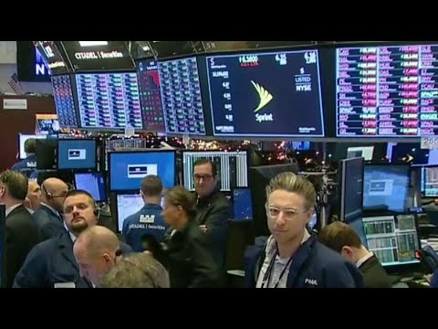 Massive sell off on North American stock markets