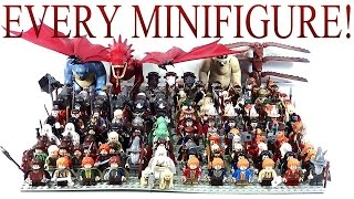 EVERY LEGO Lord of the Rings & The Hobbit Minifigure EVER Made!